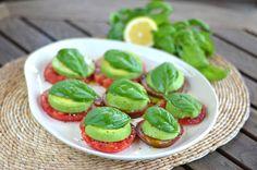 Heirloom Tomato Avocado Caprese Salad - Cook Eat Paleo