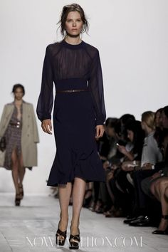 Michael Kors - Ready To Wear Spring Summer 2014 New York #MichaelKors #womensfashion #nattygal  #nyfw2013