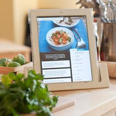"""Really smart! Chef Sleeves """"protects it (your iPad) from nearly any kitchen mishap."""" ~The New York Times"""