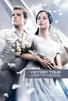 Official Catching Fire Poster | Victory Tour Kick Off!