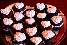 Sweet Tea and Cornbread: Chococlate Chip Sweetheart Cupcakes!