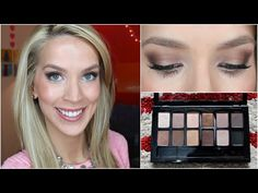 ▶ Makeup Tutorial: Nude Night Out - YouTube using Maybelline the Nudes Pallet