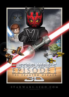 Star Wars Episode I - in LEGO style