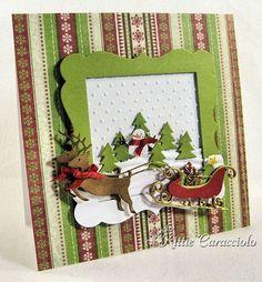 adorable sleigh and reindeer