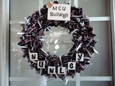 Mississippi State wreath