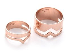 The Daily Find: Maria Black Ring Set