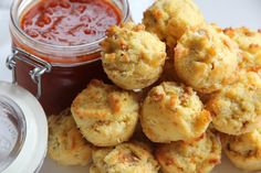 """Maria Emmerich's """"Healthified"""" Cheese Muffin...(do not add salt). You need to scroll a bit for the Muffins, but the pizza along the way looks amazing too."""