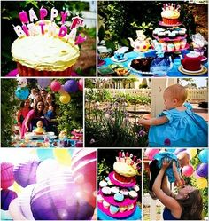 """a Mad Hatter inspired teaparty birthday! """"ONEderful"""" @queenofwhirled projectnursery.com"""