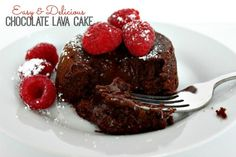 Easy Chocolate Lava
