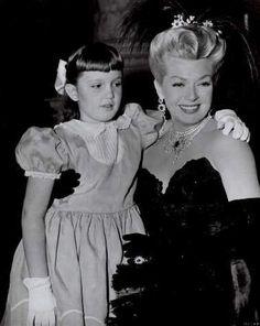 Lana Turner & her daughter Cheryl