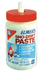 Paste. I remember this in Kindergarten a lot.
