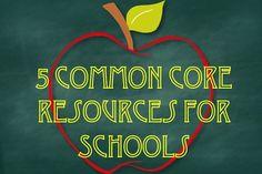 5 Common Core Resources for Schools