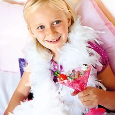 #barbie #party- each child gets a boa???
