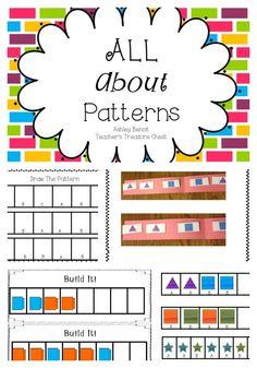 Math Patterns Center Kit