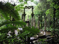 Las Pozas Xilitla. Mexico. Magical Places by Cattay Exclusive.