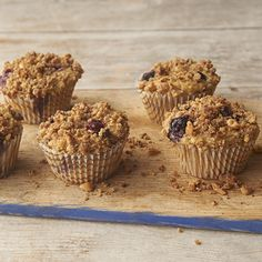 These sweet muffins include five heart-healthy, cancer-fighting superfoods: oats, flax, walnuts, applesauce, and blueberries.- Visit PaneraBread.com for more inspiration.