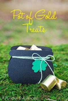 craft, gold treat, stpatrick
