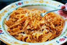 Pasta alla Vodka - my kids love vodka sauce, too, so this is a good recipe to have.