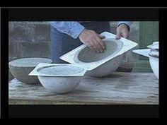 How to Make Concrete Garden Spheres : Removing Garden Spheres from Molds