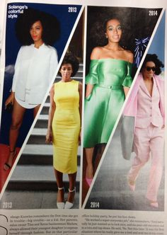Solange Knowles in Lucky magazine August 2014