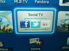 I love that my tv can do it all--even facebook!