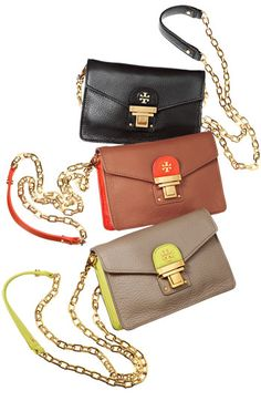 Tory Burch cross body bags. WANT