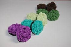 Carnation 7/8 inch (22mm) Acrylic Plugs, Ear Gauges, Unisex, Stretched Ears, Pastel, Earthy, Floral, Flower, Plugs for Girls, CHOOSE COLOR