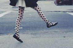 polka dots, fashion clothes, style, polkadot, tight, shoe, thing, jump, spot