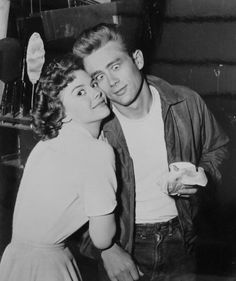 Natalie Wood and James Dean by  Unknown Artist