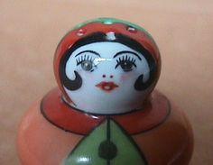Noritake Art Deco Lustre Figural Flapper Salt Shaker Large Hole Free SHIP No RS | eBay