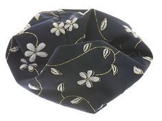 Amazon.com: L. Erickson Kyoto Headwrap - Black: Beauty