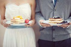 Wedding pancakes!