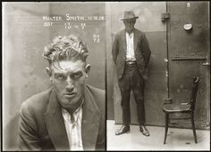 Walter Smith 24 December 1924, charged with breaking and entering the dwelling-house of Edward Mulligan and stealing blinds with a value 20 pounds and with 'stealing clothing, a value of 26 pounds. Sentenced to 6 months hard labour.