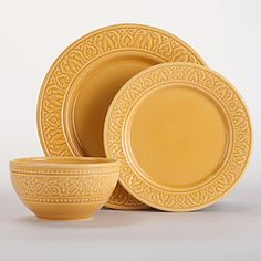Yellow Dishes {Or other similar Dishes}