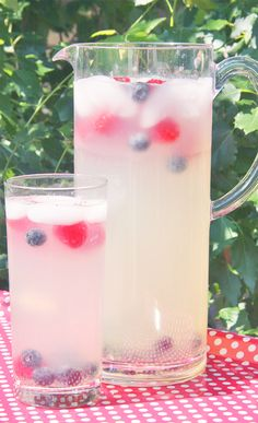 go vote for my red, white and blue patriotic punch! http://www.pinterest.com/hellosociety/4th-of-july-pinterest-potluck/