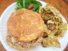 Revolution Rolls and BBQ Ranch Chicken Salad