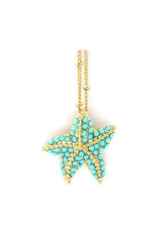 starfish necklace <3