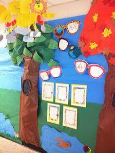 4 seasons wall display