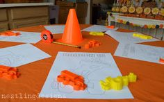 Construction Party Games and Activities You have to look at this site!