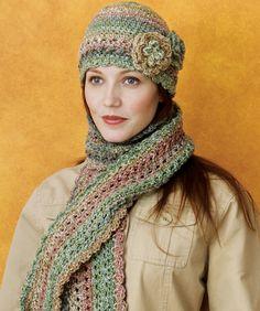 Crocheted Cloche