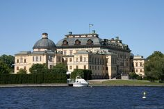 Drottningholm Palace (seen from the lake), Stockholm