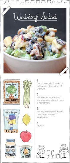 The Vegan Stoner's Waldorf Salad