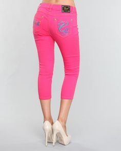 pretty pink apple bottoms jeans More