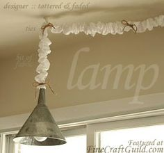 French country lamp