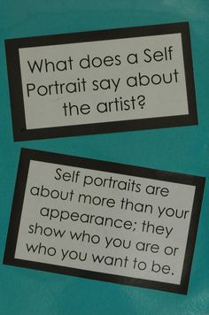 art room bulletin board ideas   a selfie wall for early finishers. They can draw a selfie of themselves. So fun.