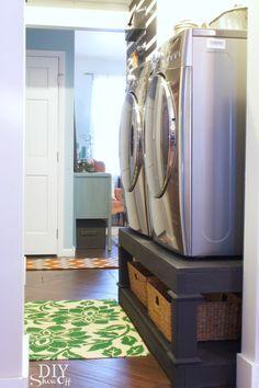 DIYShowOff Laundry Room Pedestals