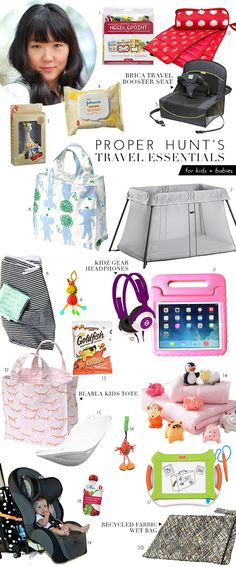 What To Pack When Traveling With Little Ones | theglitterguide.com