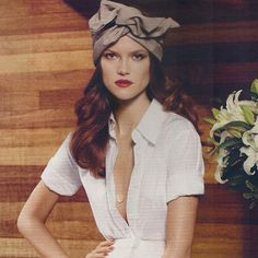 Our suede tan turband is featured in this months Harpers BAZAAR!!! #cultgaia http://www.cultgaia.com/