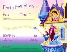 parti invit, birthday party invitations, princess birthday, birthday parties, mallori birthday, disney princesses, birthday invitations, parti rachel, bday parti