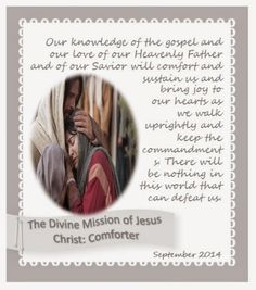 Didi @ Relief Society: September 2014 - Visiting Teaching Message - The D...
